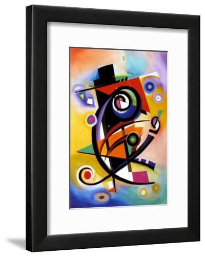 Homage to Kandinsky-Alfred Gockel-Framed Art Print