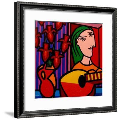 Homage to Picasso 2-John Nolan-Framed Giclee Print