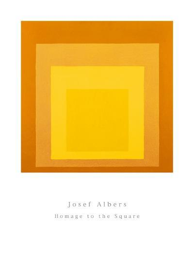 Homage To The Square-Josef Albers-Art Print