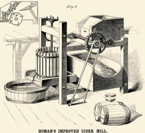 Homan's Improved Cider Mill