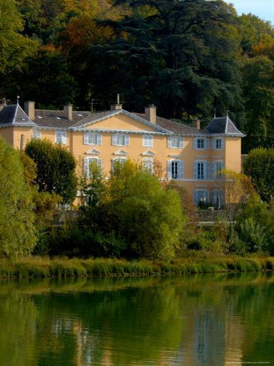 Home along the Saone River, France-Lisa S^ Engelbrecht-Photographic Print