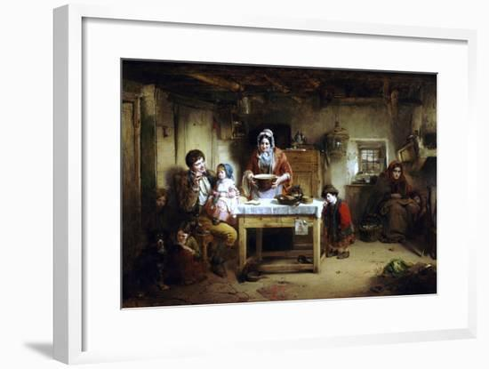 Home and the Homeless, 1856-Thomas Faed-Framed Premium Giclee Print