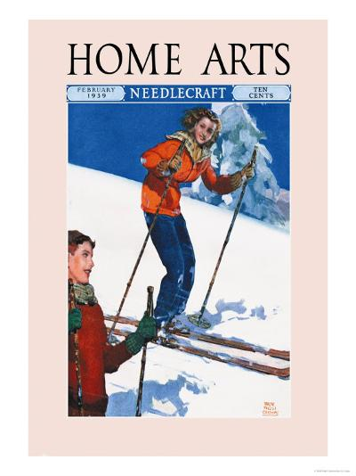 Home Arts, February 1939-Ralph Coleman-Art Print