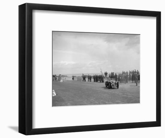 Home-built Cowal 2-seater sports of JW Robertson competing in the RSAC Scottish Rally, 1934-Bill Brunell-Framed Photographic Print