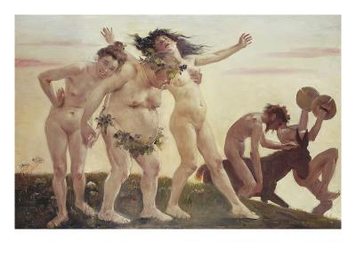 Home-Coming Bacchants, 1898-Lovis Corinth-Giclee Print