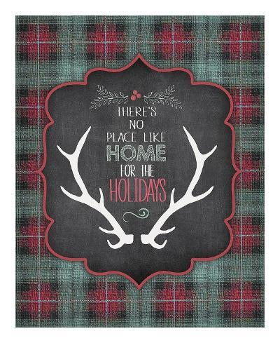 Home for the Holidays-Jo Moulton-Art Print