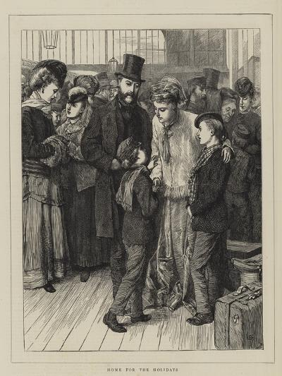 Home for the Holidays-Charles Green-Giclee Print