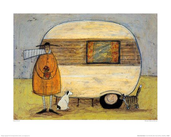 Home from home art print by sam toft the new art home from homeby sam toft m4hsunfo