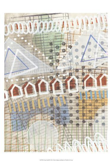 Home Grid II-Nikki Galapon-Art Print