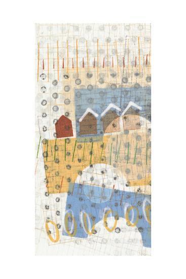 Home Grid III-Nikki Galapon-Art Print