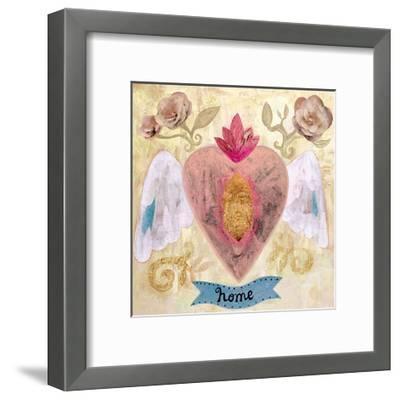 Home Heart-Mercedes Lagunas-Framed Art Print