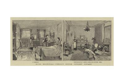 Home Hospitals, Fitzroy House, Fitzroy Square--Giclee Print