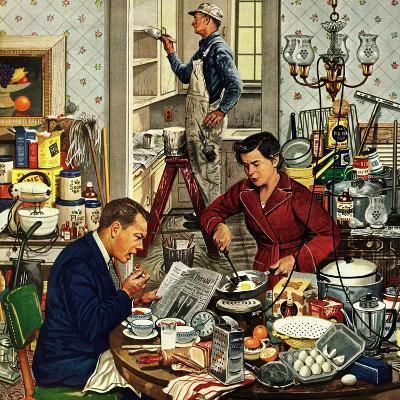 """Home Improvement"", December 5, 1953-Stevan Dohanos-Giclee Print"