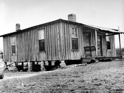 "Home in the Mississippi River Area, Where Richard Wright Wrote the Book Called ""Black Boy""-Ed Clark-Photographic Print"