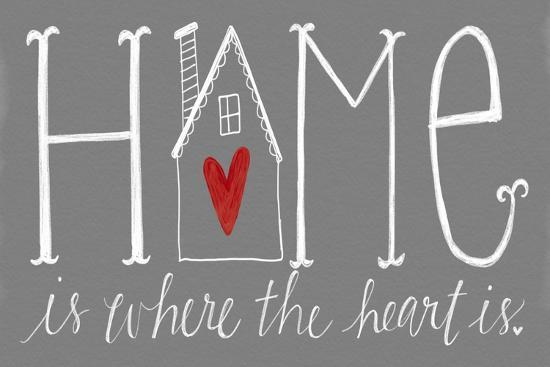 Home is Where the Heart Is-Katie Doucette-Art Print