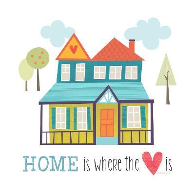 Home is Where the Heart Is-Lamai McCartan-Art Print