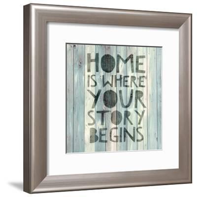 Home is Where …-Jamie MacDowell-Framed Giclee Print
