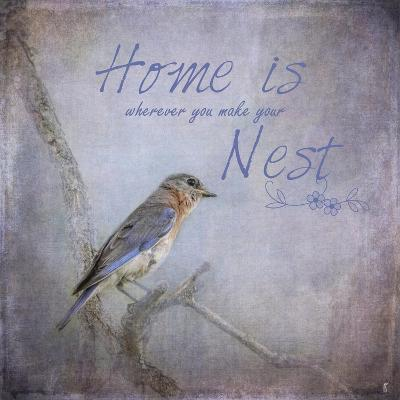 Home Is Wherever You Make Your Nest-Jai Johnson-Giclee Print