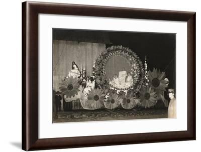 Home-Made Float--Framed Art Print
