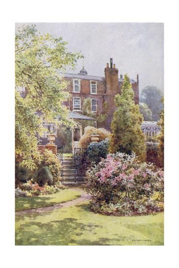 Home of Charles Dickens at Gadshill, Kent-EW Haslehust-Giclee Print