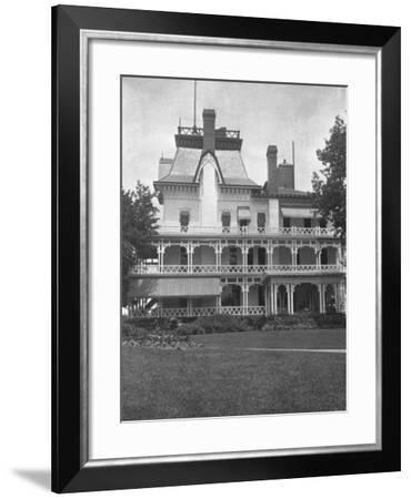 Home of John D. Rockefeller, Forest Hill, Cleveland, Ohio--Framed Photographic Print