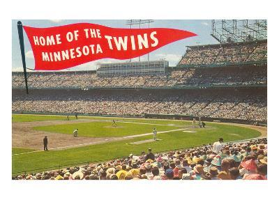 Home of the Minnesota Twins--Art Print