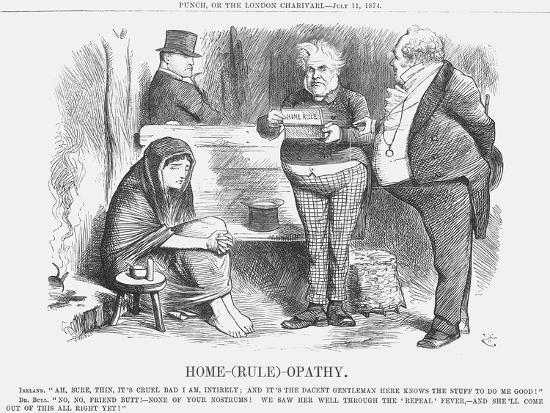 Home-(Rul)-Opathy, 1874-Joseph Swain-Giclee Print