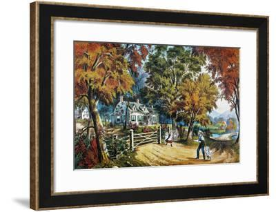Home Sweet Home, 1869-Currier & Ives-Framed Giclee Print