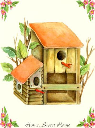 Home Sweet Home I-N^ Kenzo-Art Print
