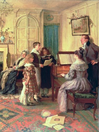 Home Sweet Home-Walter Dendy Sadler-Giclee Print