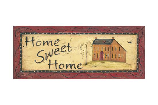 Home Sweet Home-Jo Moulton-Art Print