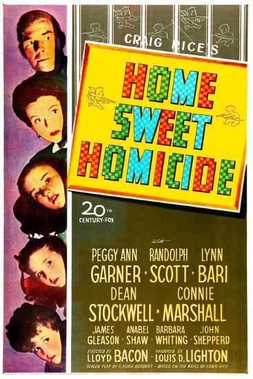 Home Sweet Homicide--Art Print
