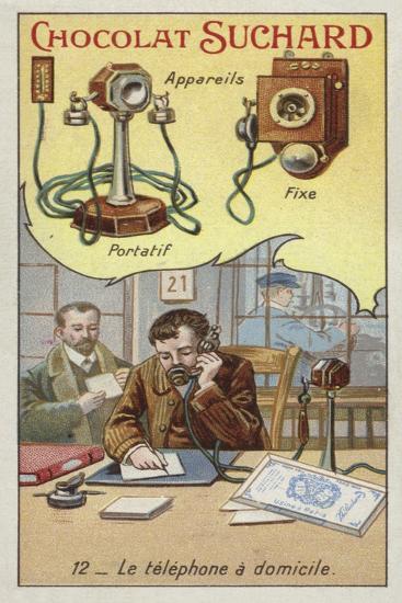 Home Telephone--Giclee Print