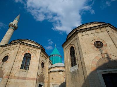 Home to the Whirling Dervish, Mevlana Museum, Konya, Turkey-Darrell Gulin-Photographic Print