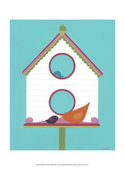 Home Tweet Home III-Erica J^ Vess-Art Print