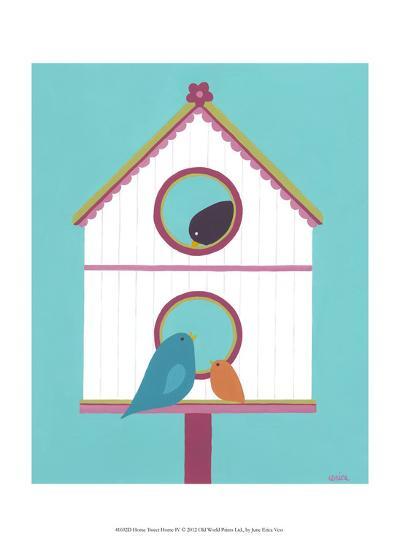 Home Tweet Home IV-Erica J^ Vess-Art Print