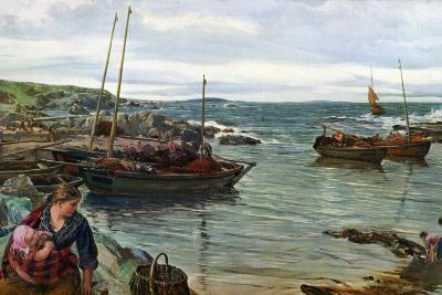 Home with the Tide, 1880-James Clarke Hook-Giclee Print