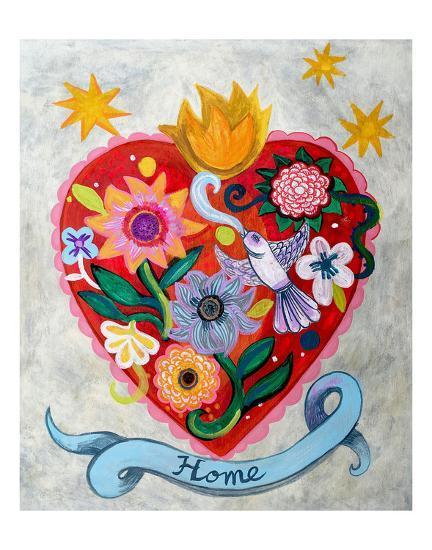 Home!!-Mercedes Lagunas-Art Print