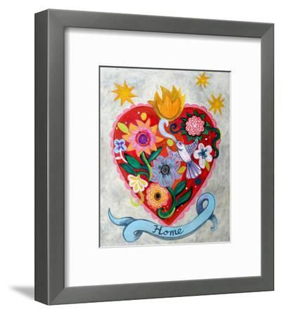 Home!!-Mercedes Lagunas-Framed Art Print