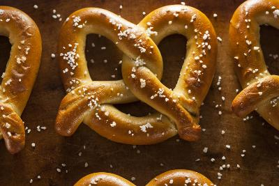 Homemade Soft Pretzels with Salt-bhofack22-Photographic Print