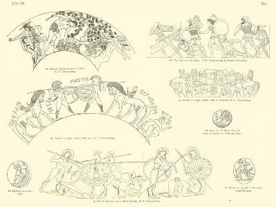Homer's Iliad--Giclee Print