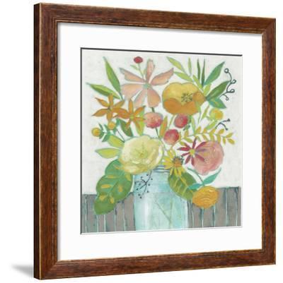 Homestead Floral I-Chariklia Zarris-Framed Giclee Print