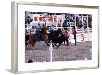 Homestead Rodeo, C.1985--Framed Photographic Print