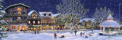 Hometown Holiday-Jeff Tift-Giclee Print