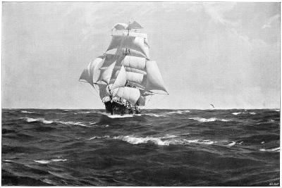 Homeward Bound, 1903-Thomas J Somerscales-Giclee Print