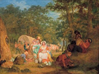 Homeward Bound: Dinner Time, C.1852-John Alexander Gilfillan-Giclee Print