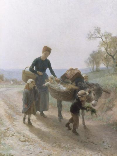 Homeward Bound-Andre Henri Dargelas-Giclee Print