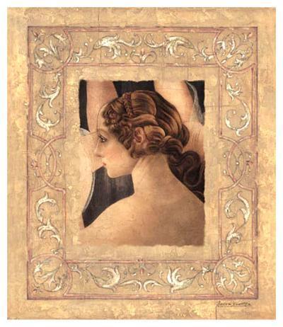 Hommage À Botticelli II-Javier Fuentes-Art Print
