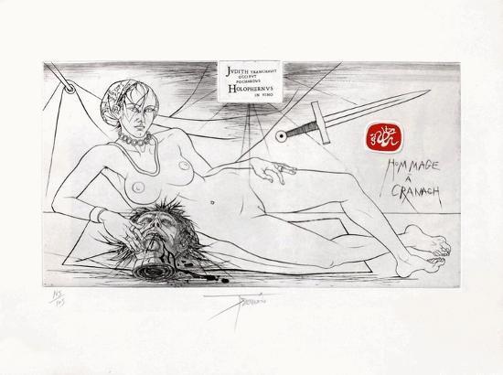 Hommage à Cranach-Pierre-yves Tremois-Limited Edition