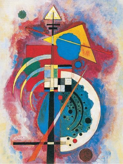 Hommage a Grohmann, 1926-Wassily Kandinsky-Art Print